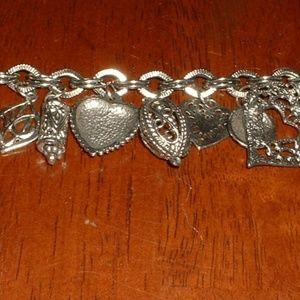 Heavy Dangling Bracelet